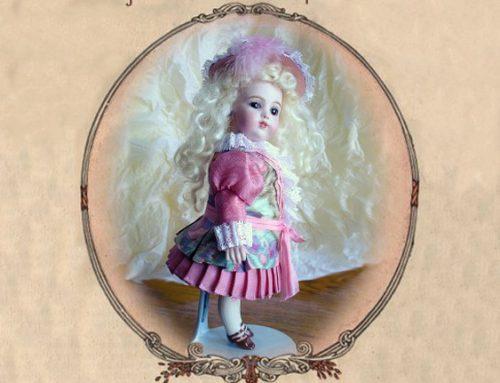 Silk Scarf Doll Dress