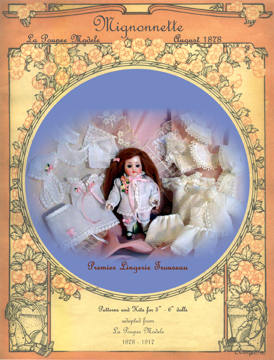 Mignonette Doll Pattern Premier