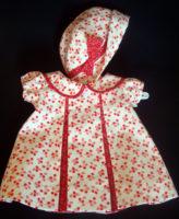 Red Pleat Patsy Doll Dress