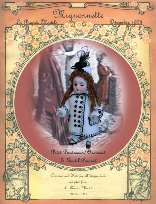 Mignonette Doll Pattern Coat