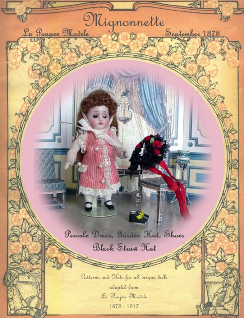 Mignonette Doll Pattern Percale