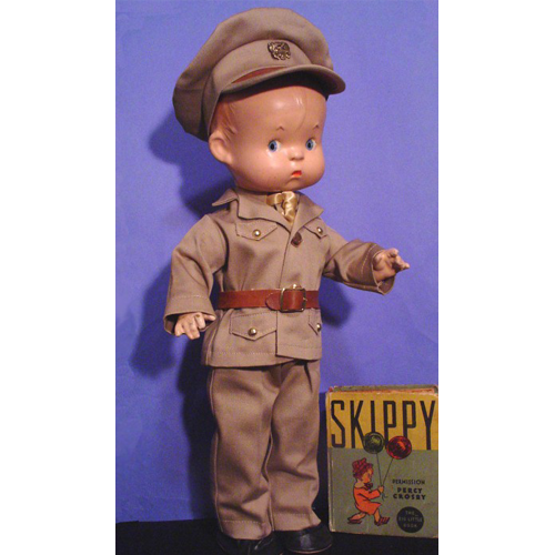 Skippy Doll Clothes Army Outfit