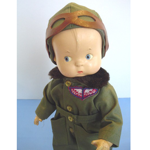 Effanbee Skippy Doll Aviator Clothes - hat