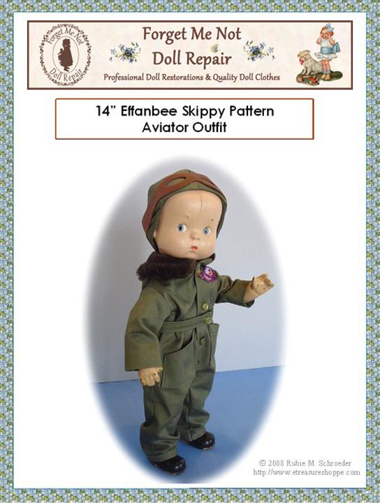Aviator Skippy Doll Pattern