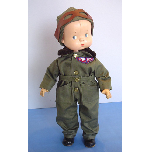 Skippy Doll Aviator Outfit