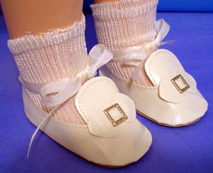 Patsy Doll & Shirley Doll Party Shoes