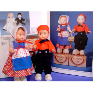 Kit & Kat Clothes for Effanbee Tinyette Dutch Dolls