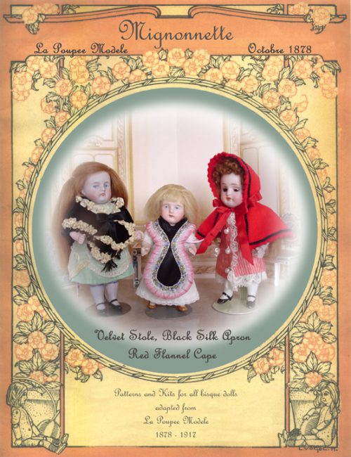 Mignonette Doll Pattern Wrap