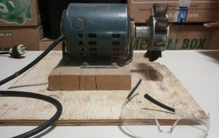 Sand-O-Flex sander used for composition doll repair.