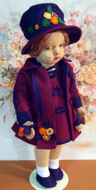 Lenci coat and hat