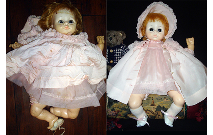 Doll Repair Pocatello Idaho - Madam Alexander Baby