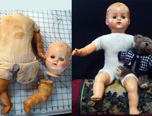 Hard Plastic and Vinyl Doll