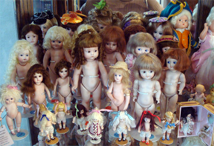All Bisque Dolls - Antique Reproductions