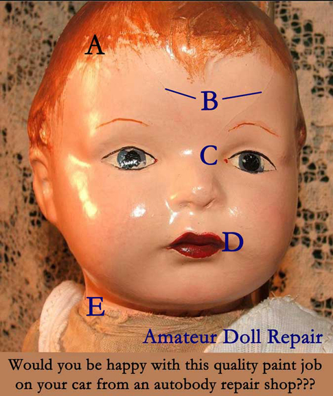 professional doll repair