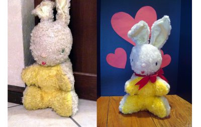 Stuffed Rabbit Repair