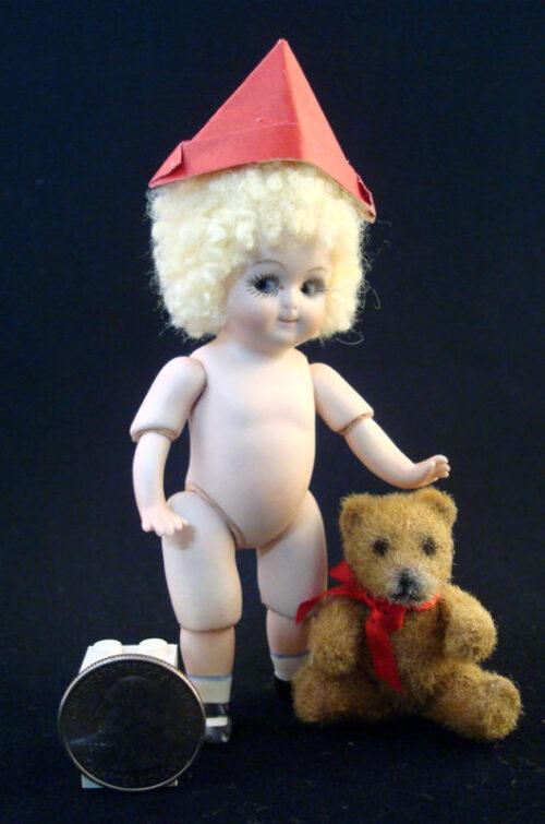All bisque doll Gem Googly