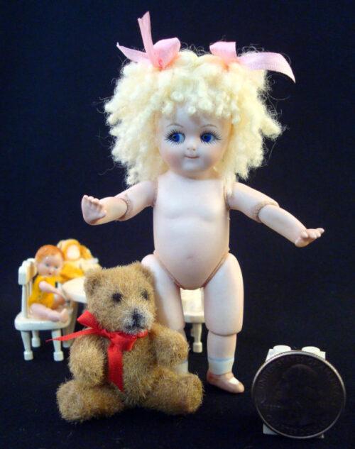 Gem Googly All Bisque Doll