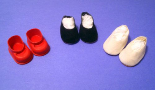 """7"""" - 8"""" Doll Shoes"""