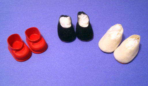"7"" - 8"" Doll Shoes"