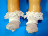 Ginny Doll Ruffled Socks