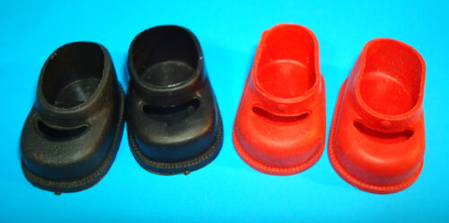 Plastic GinnyType Doll Shoes