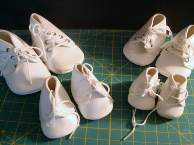 Vinyl Baby Doll Shoes