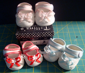 Side Snap Baby Doll Shoes