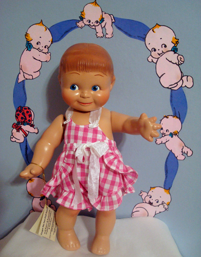 Kewpie Doll Ruffled Sunsuit 2