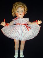 Shirley Doll Dotted Swiss Dance Dress