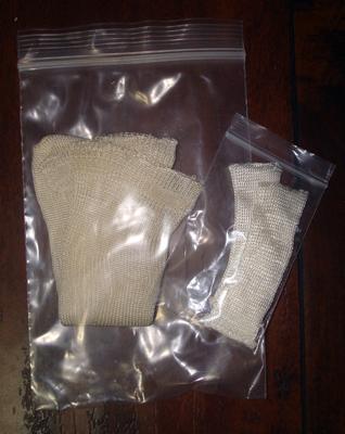 Vintage Rayon Doll Socks