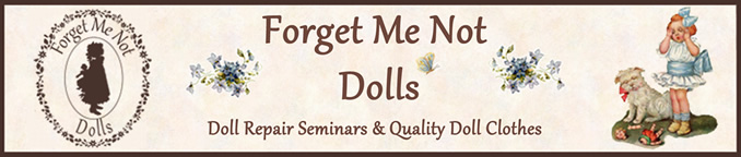 Forget Me Not Dolls Logo