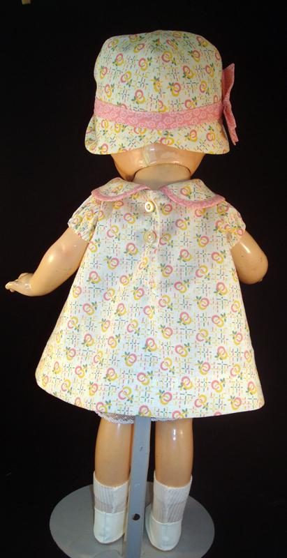 Pink Pleat Patsy Doll Dress