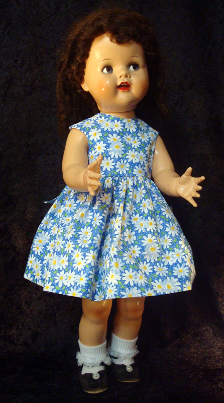 Saucy Walker Doll Sundress-Blue