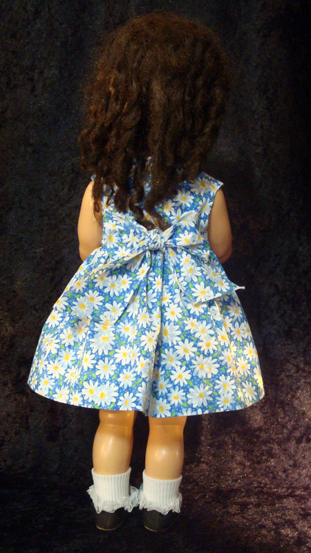 Saucy Walker Doll Dress Blue Sundress