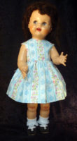 Saucy Walker Doll Sundress-Aqua