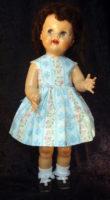 Saucy Walker Doll Sundress-Aqua