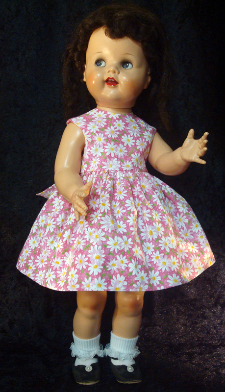 Saucy Walker Doll Sundress-Pink