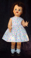 Saucy Walker Doll Sundress-Dots