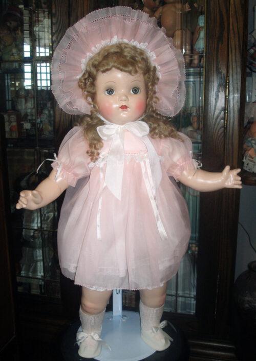 Pink Organdy BabyDoll Dress