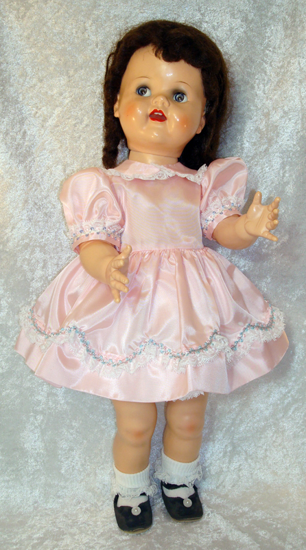 SaucyWalker Doll Dress PartyPink