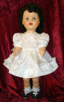 SaucyWalker Doll Dress PartyWhite