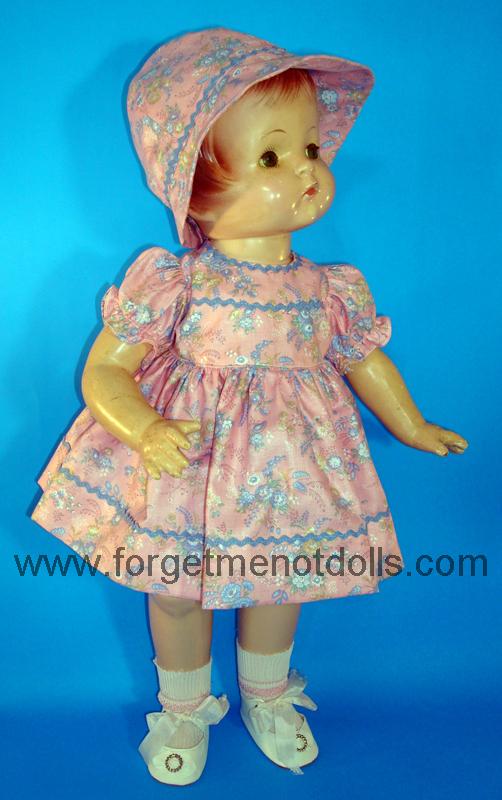 Pink Patsy Day Dress&Hat