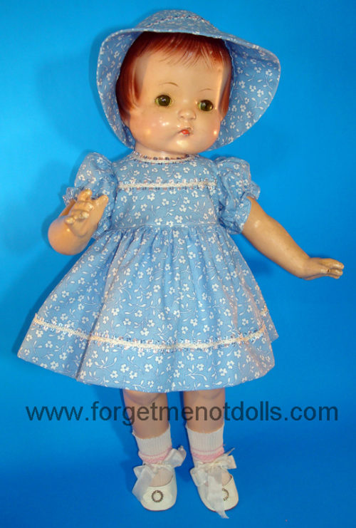 Blue Patsy Day Dress&Hat