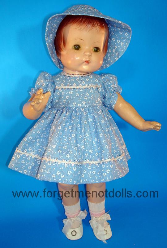 Blue Patsy Day Dress&Hat