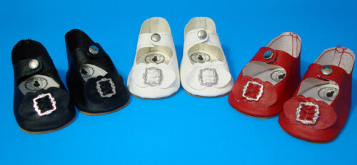 ShirleyTemple Center-Snap Doll Shoes