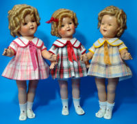 ShirleyTemple Doll Plaid Dress