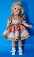 Lacy Coral Toni-Doll Dress