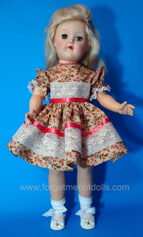 Lacy Coral Toni-Doll Dress