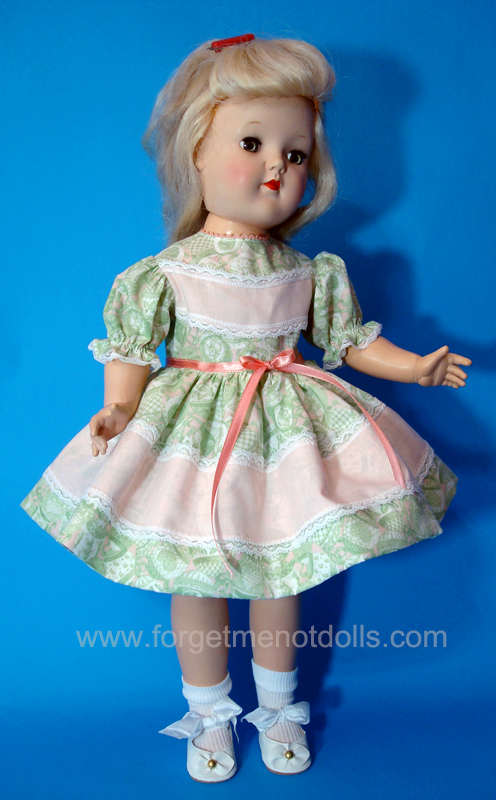 Peach Overlay Toni-Doll Dress
