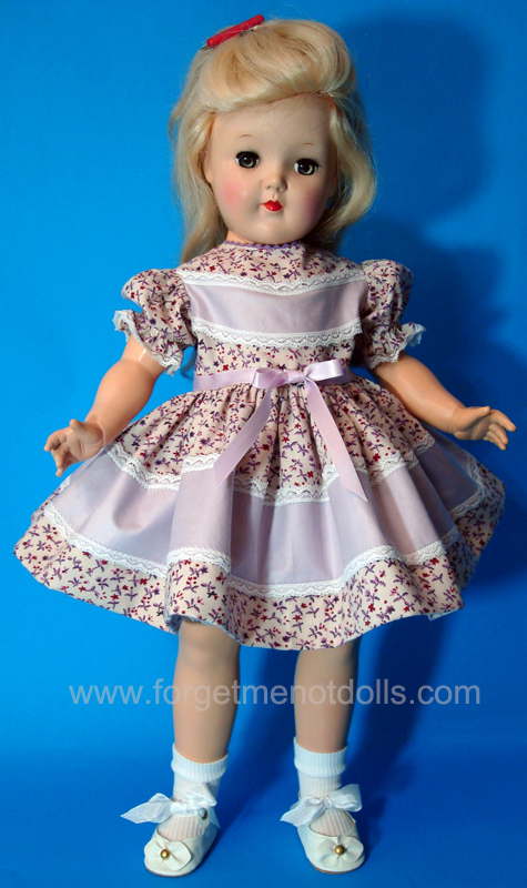 Lilac Overlay Toni-Doll Dress